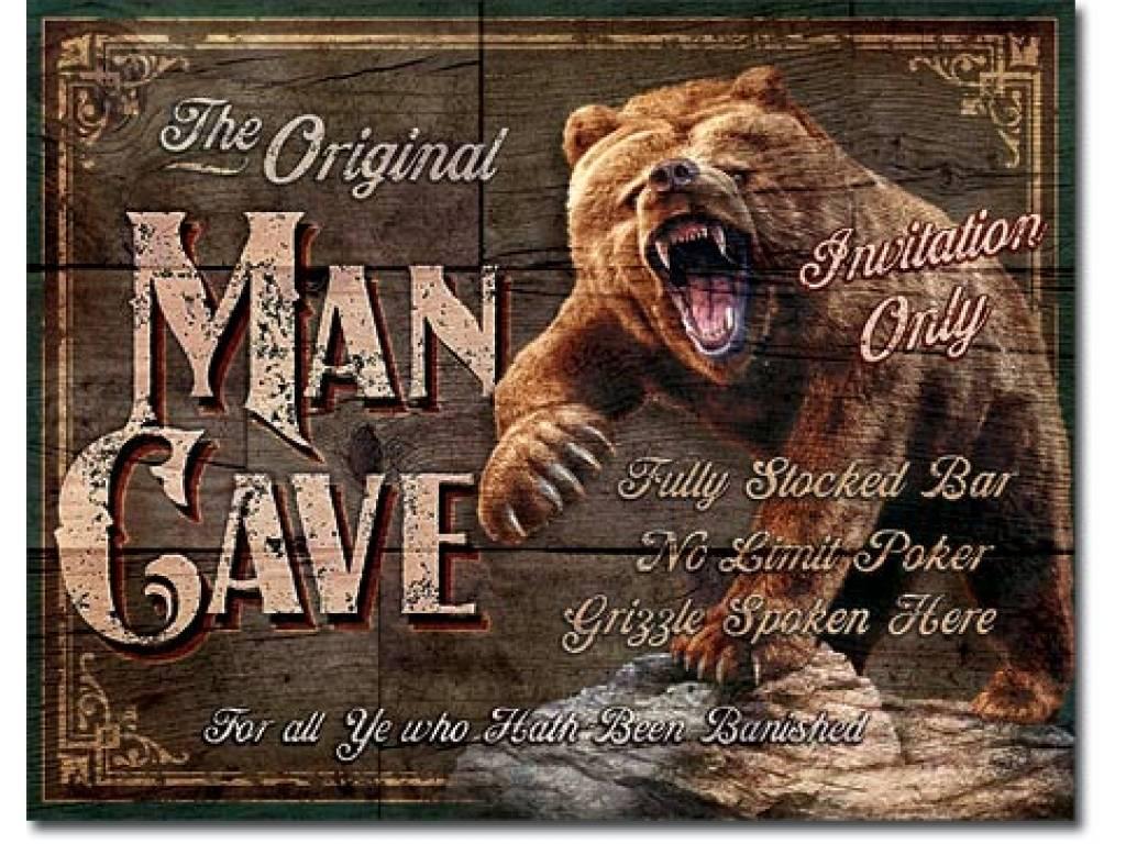 ORIGINAL MAN CAVE