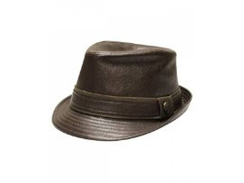FEDORA FAUX LEATHER
