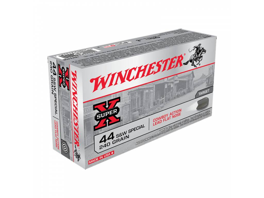 44 S&W SP - WINCHESTER USA