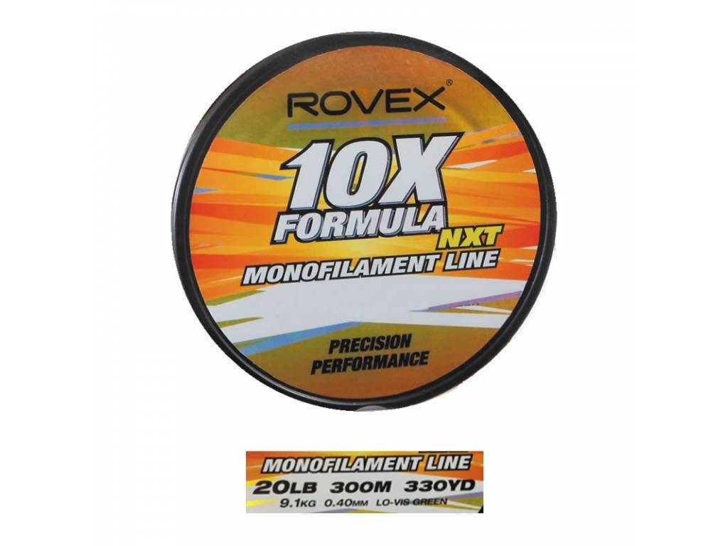 10X FORMULA 300 MTS.