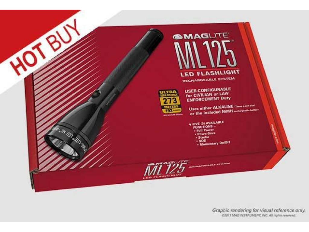 ML125™ LED RECARGABLE